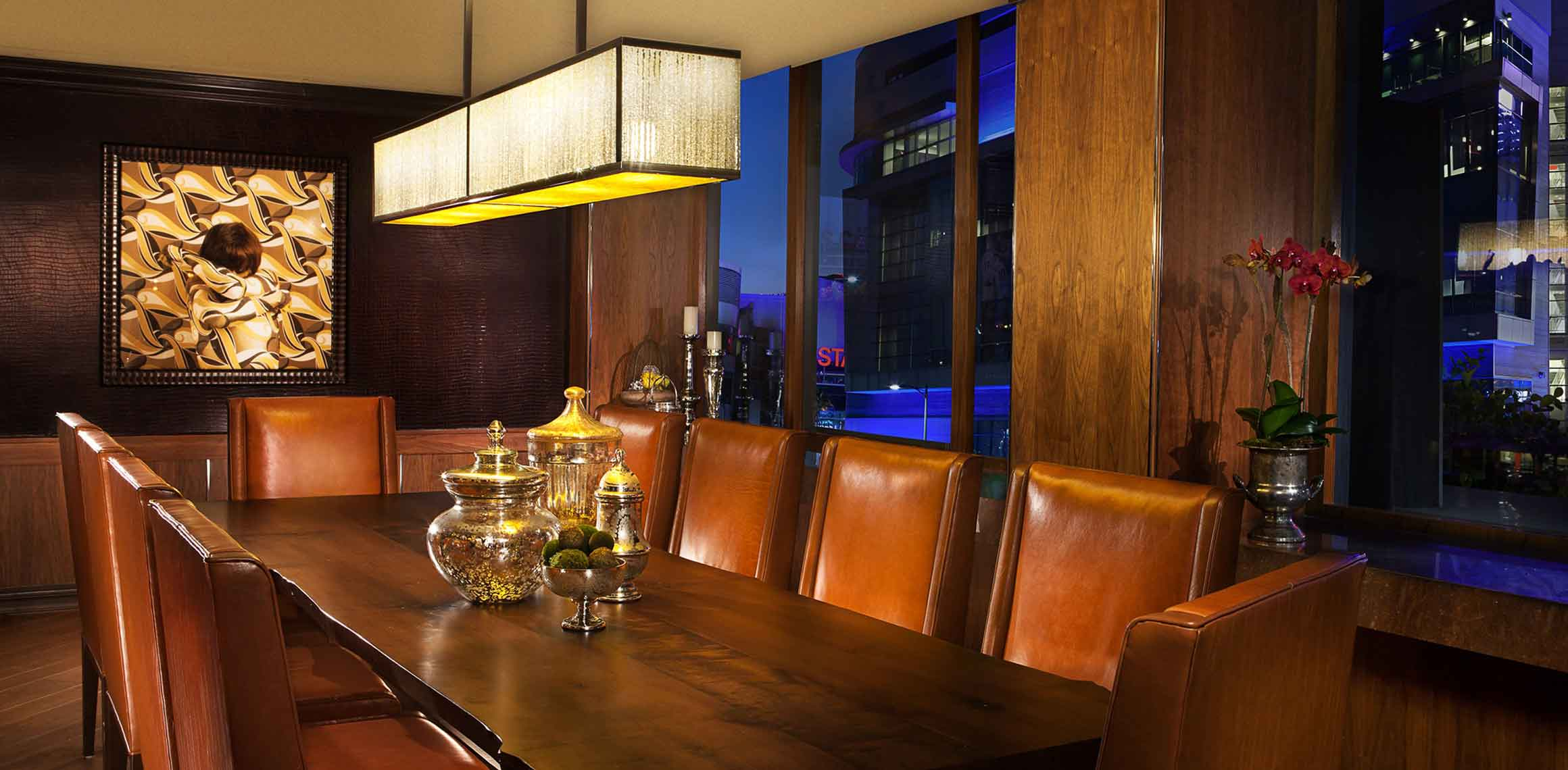 Luxe City Center Board Room