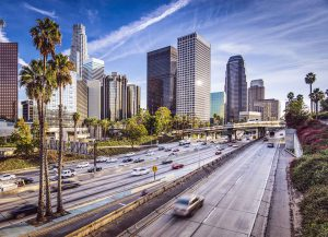 Downtown Los Angeles Freeway