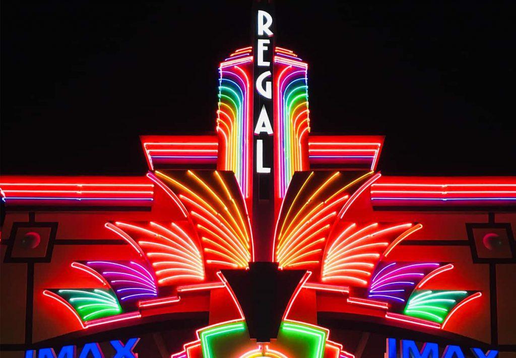 Regal Cinemas nearby E-Central Hotel