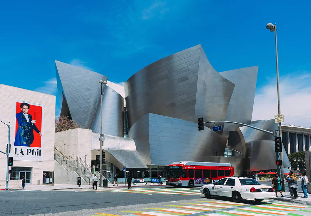 Walt Disney Concert Hall nearby Luxe City center