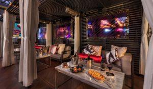 Nixo Patio Lounge Cabanas