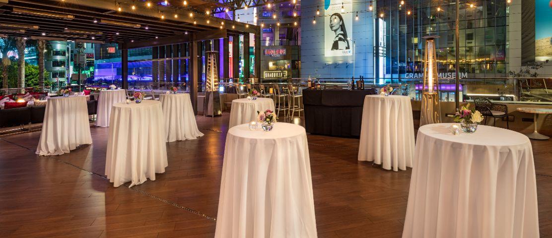 E-Central Hotel event set up
