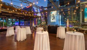 Event setup at E-Central Hotel
