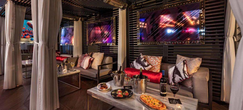 Cabanas at Nixo Patio Lounge